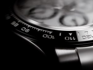 Rolex also endeavored to protect the readability of the frame through a process they developed
