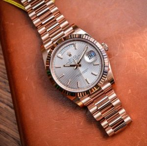 Here is the Rolex Day-Date 40 with the new Rolex Calibre 3255.