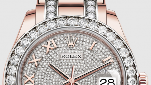 the assembled watch is carried out using a methodology and high-technology equipment specially developed by Rolex.